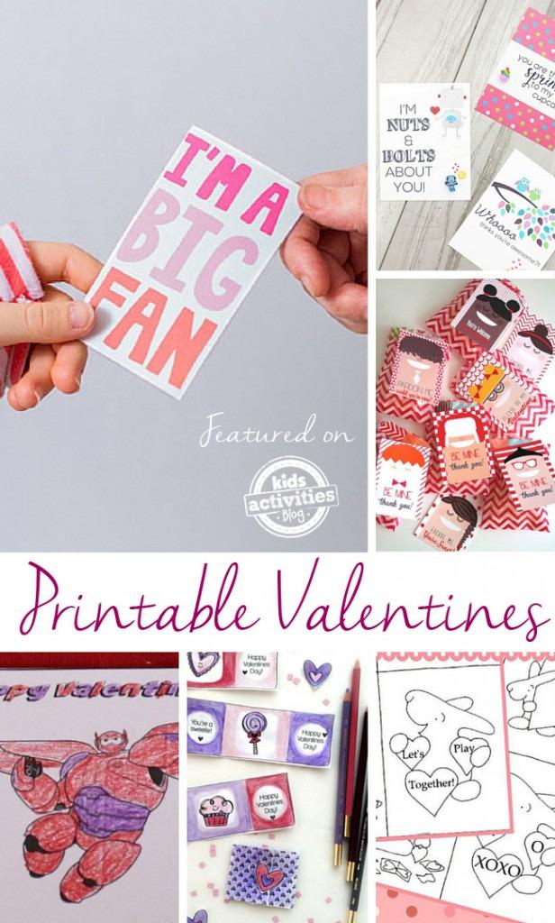 Kids Valentines for School - Kids Activities