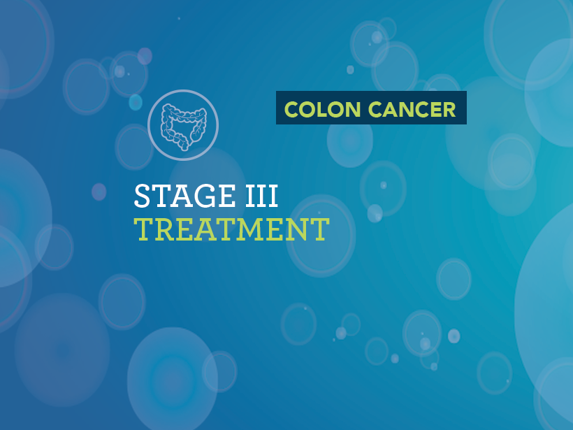 Treatment Of Stage I Iii Of Colon Cancer