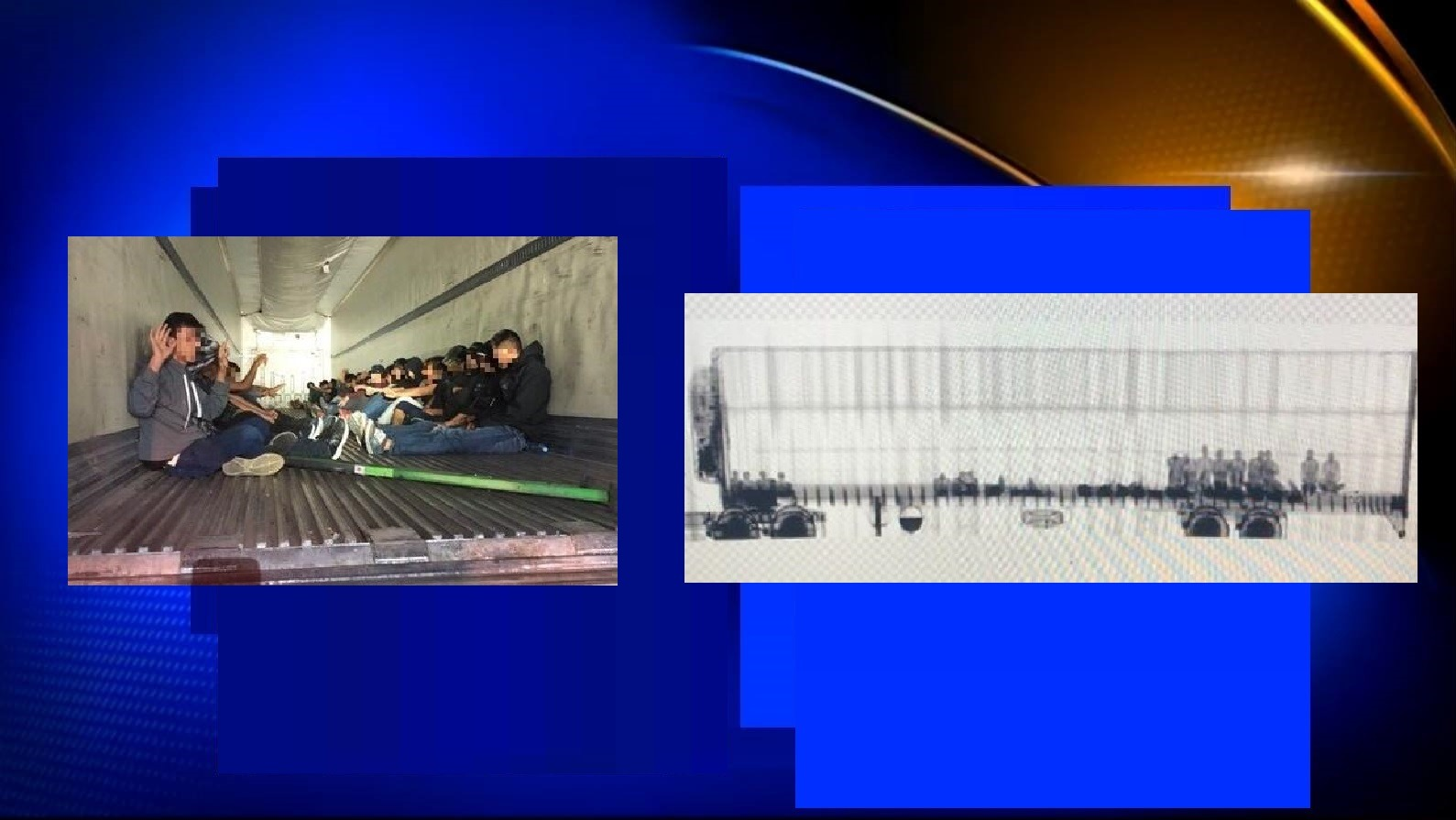 31 ILLEGAL IMMIGRANTS CAUGHT IN TRACTOR-TRAILER DURING SMUGGLING ATTEMPT