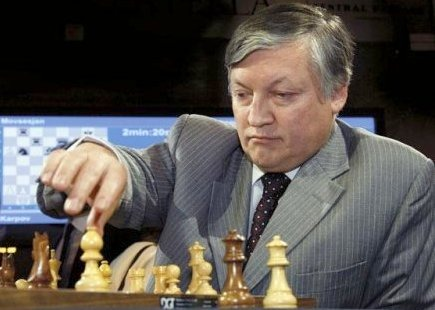 Karpov has been unable for several months to obtain a visa to travel to the US