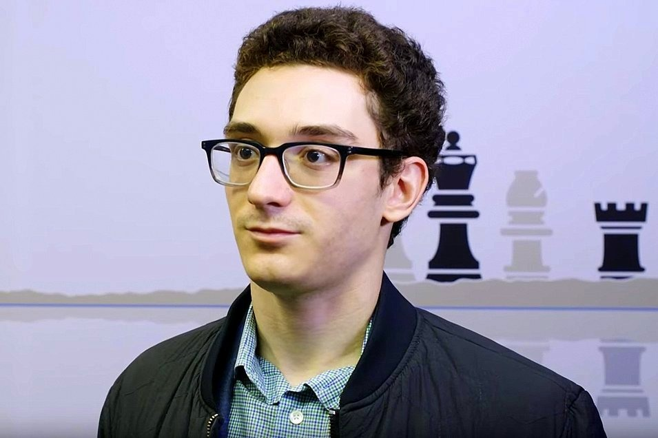 Caruana wins to catch Firouzja while Carlsen scores 1st win
