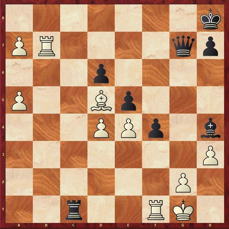 Daily Chess Improvement: Carlsen - Caruana Chess Tactic! - Chess Daily News