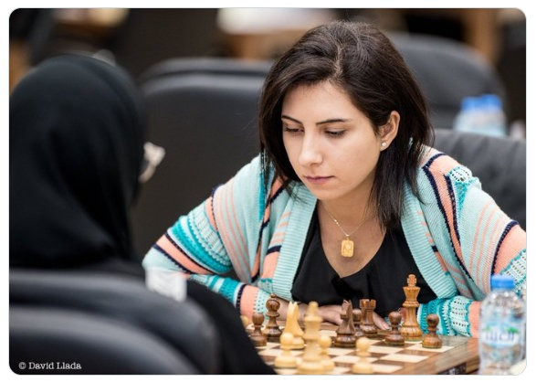 Big tension off the chess board effected a member of the Armenian Women's Team