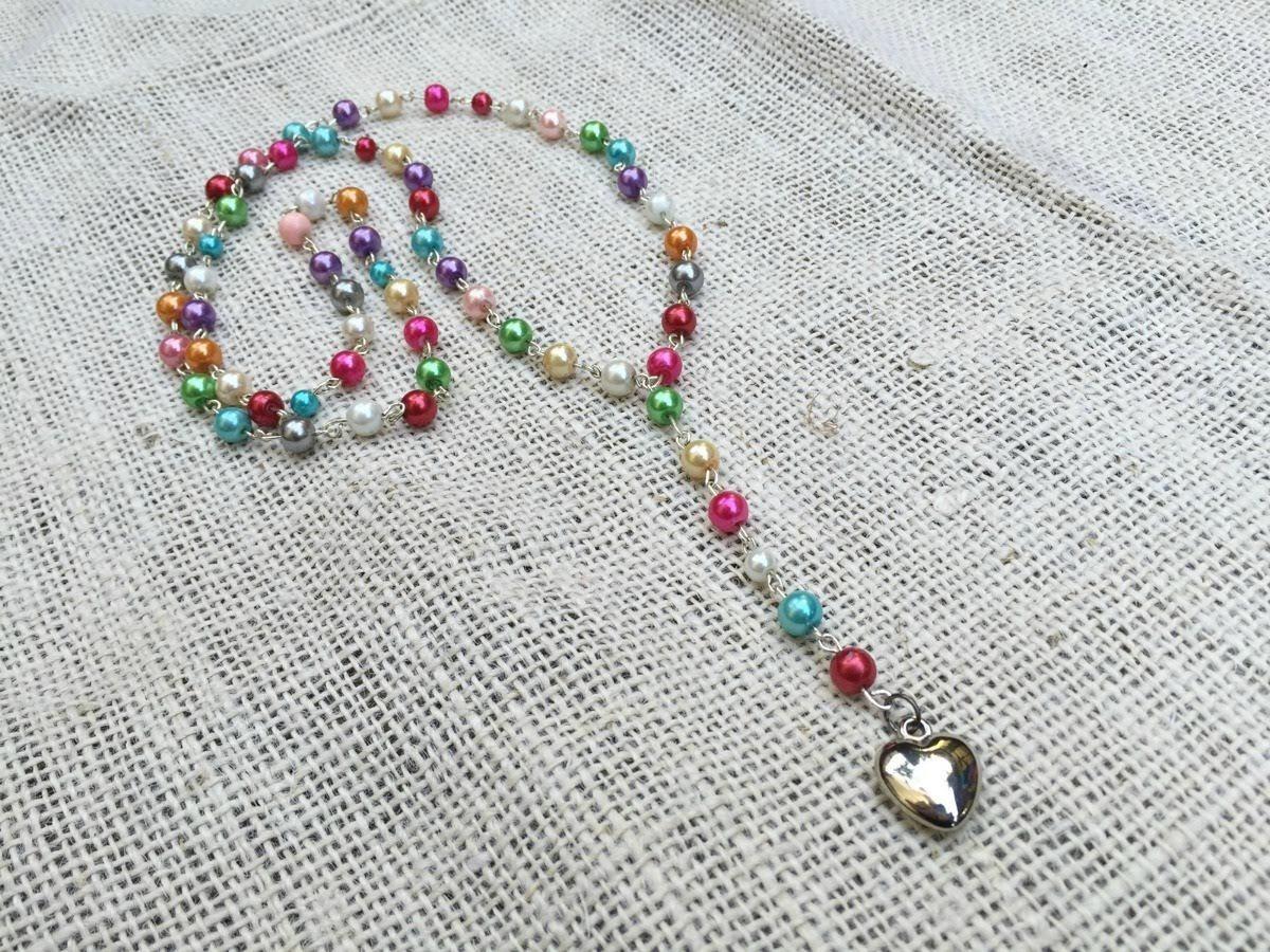 Diy Rosary Necklace Craftbits