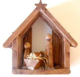Craft Stick Christmas Nativity Craftbitscom