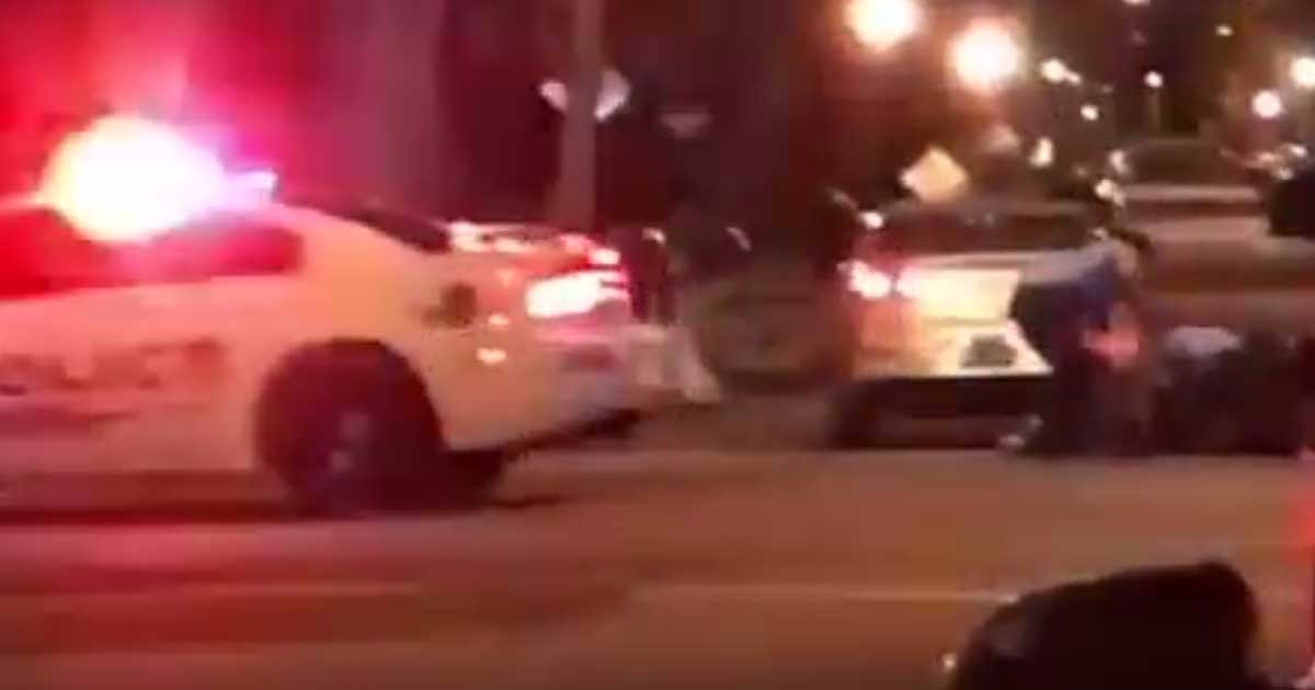 VIDEO: Cell Phone Video Released Of DC Officers Shot Thursday Night