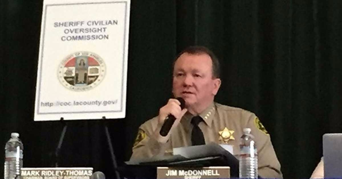 Officer's Murder By Suspect Just Released From Jail Leaves Sheriff McDonnell Blaming California