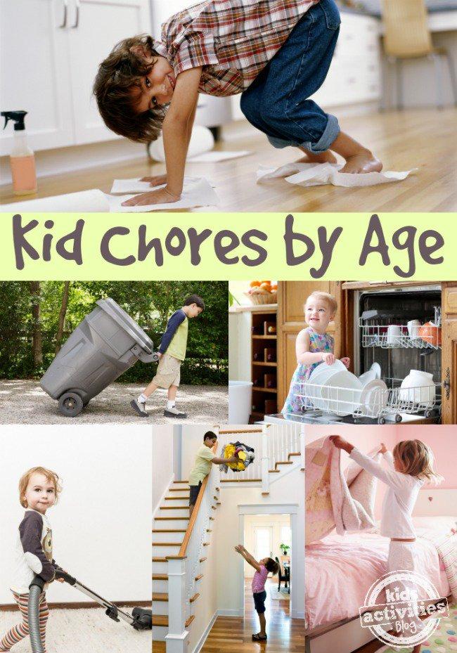CHORES FOR KIDS - Kids Activities