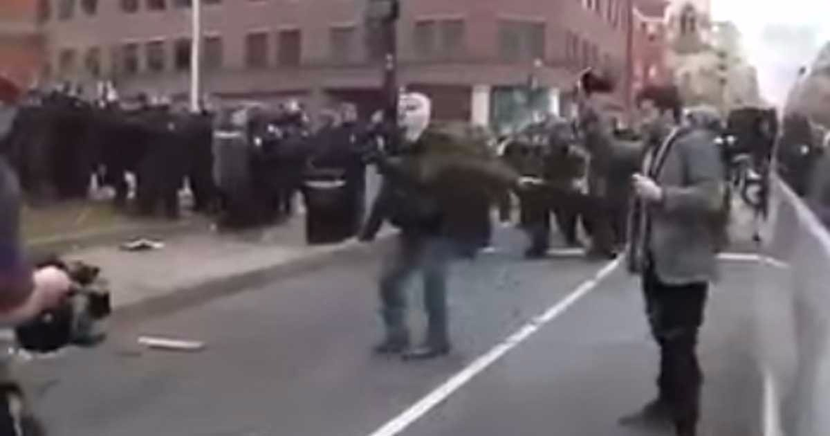 WATCH: Five Videos That Define The Inauguration Riots