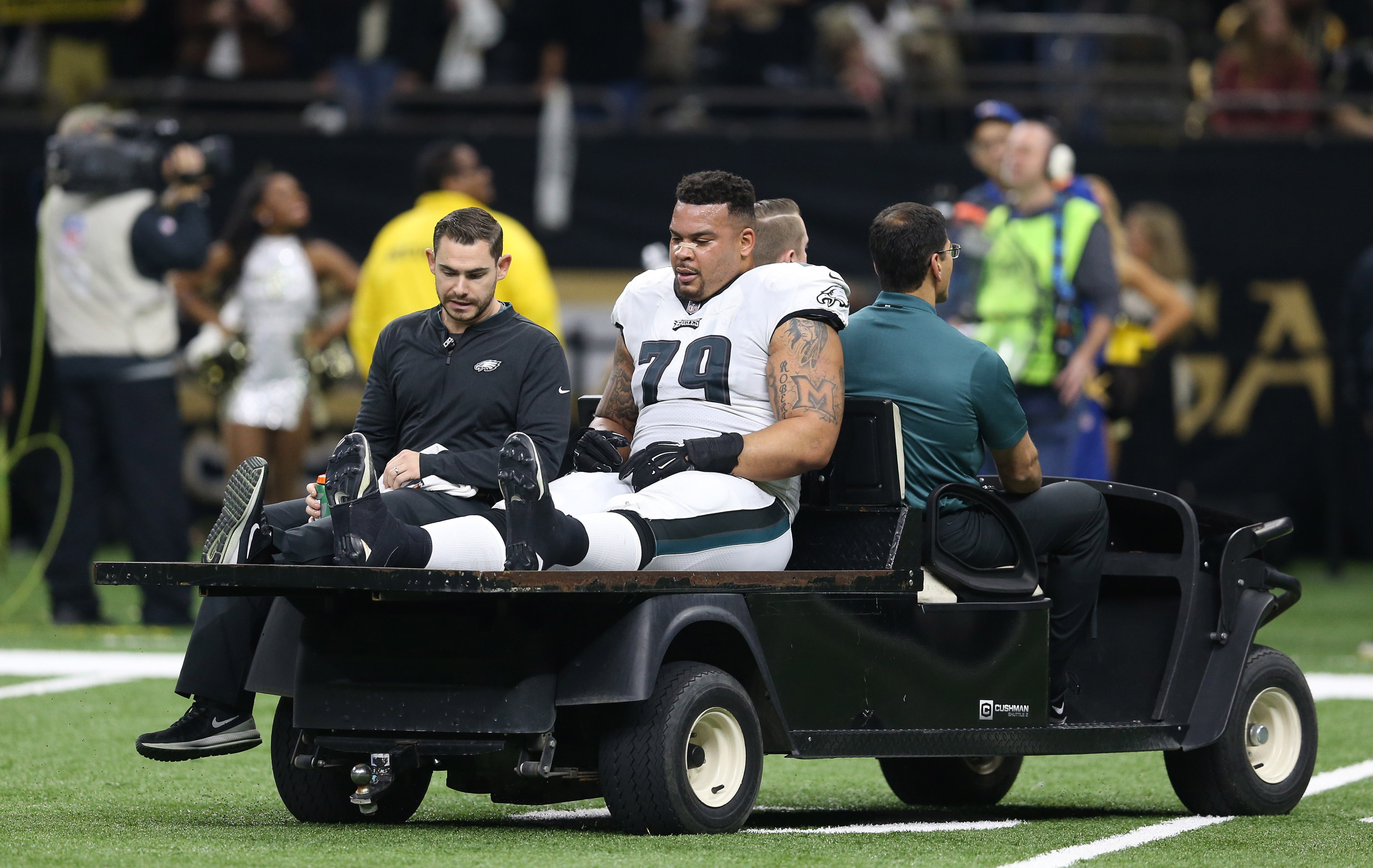 Eagles offensive line will look much different in 2019