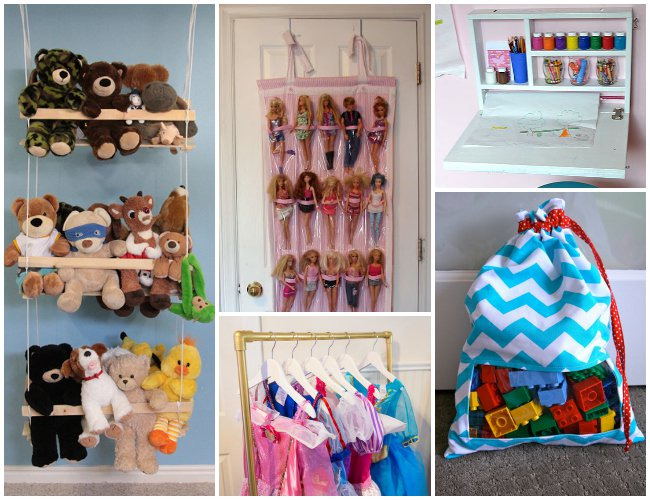 26 Ways To Organize Toys In Small Spaces Kids Activities