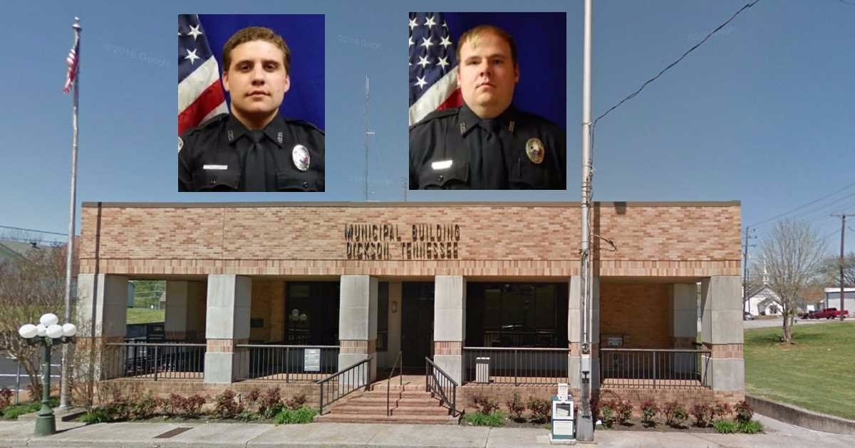 Dickson Police Department Officers 'Reassigned' To Public Works Dept., Ordered To Pick Up Garbage