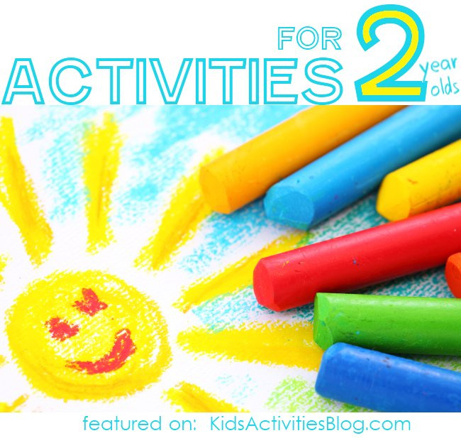 40+ Activities for Two Year Olds - Kids Activities