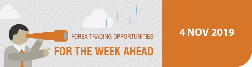 Forex Trading Opportunities for the Week Ahead 4 November 2019