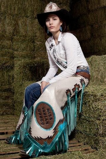 Miss Indian Rodeo Is A Life Long Cowgirl Living Unexpected