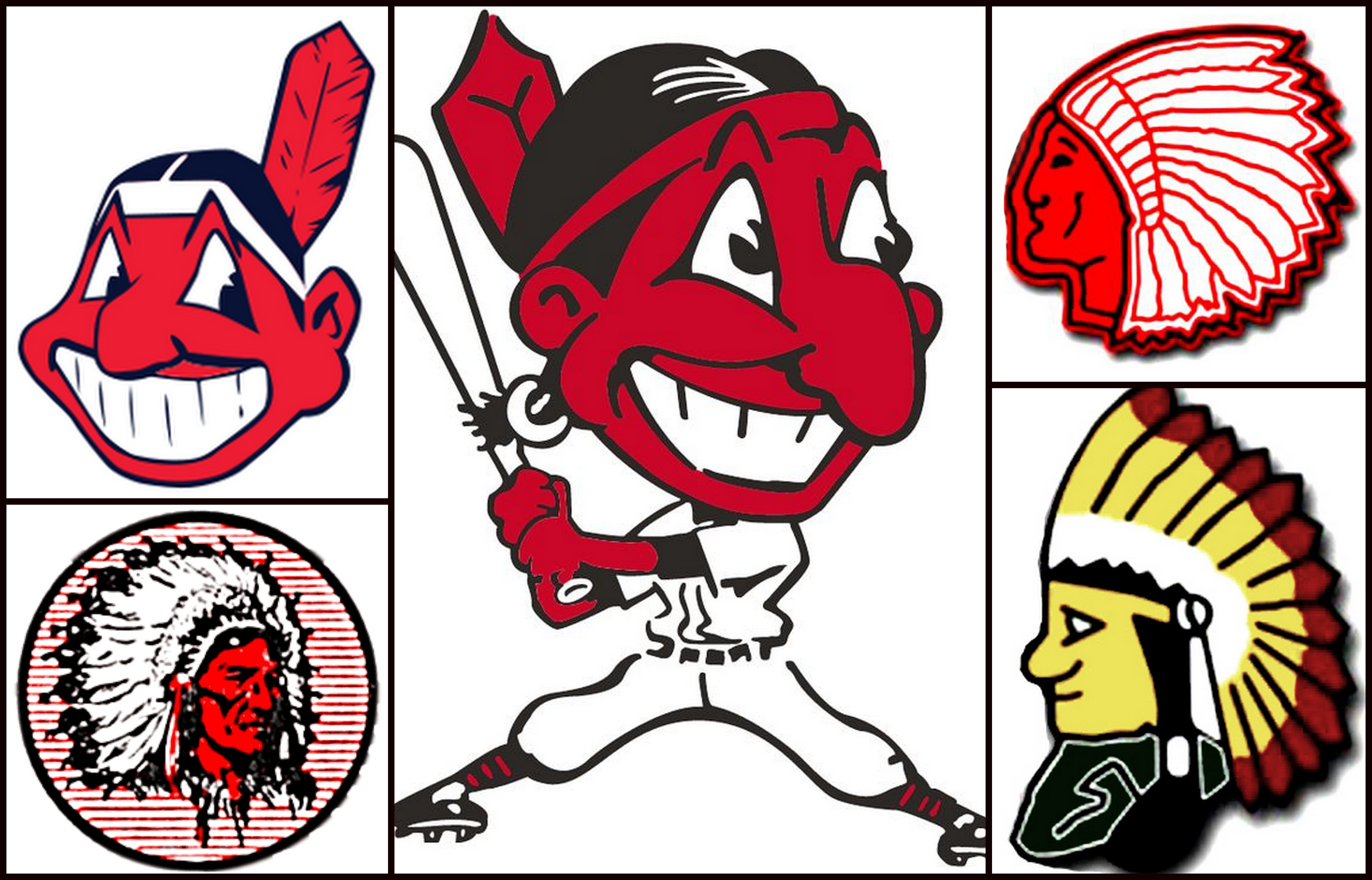 1285520dd3c47f Since 1928 – A Pictorial History of the Cleveland Indians and Chief Wahoo  Logos - IndianCountryToday.com