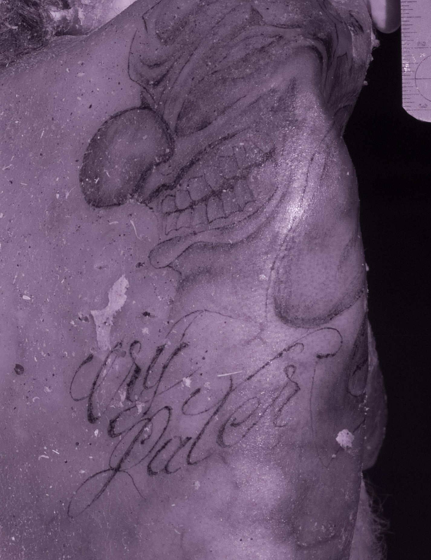 Mystery Death in Desert: Do You Recognize These Tattoos
