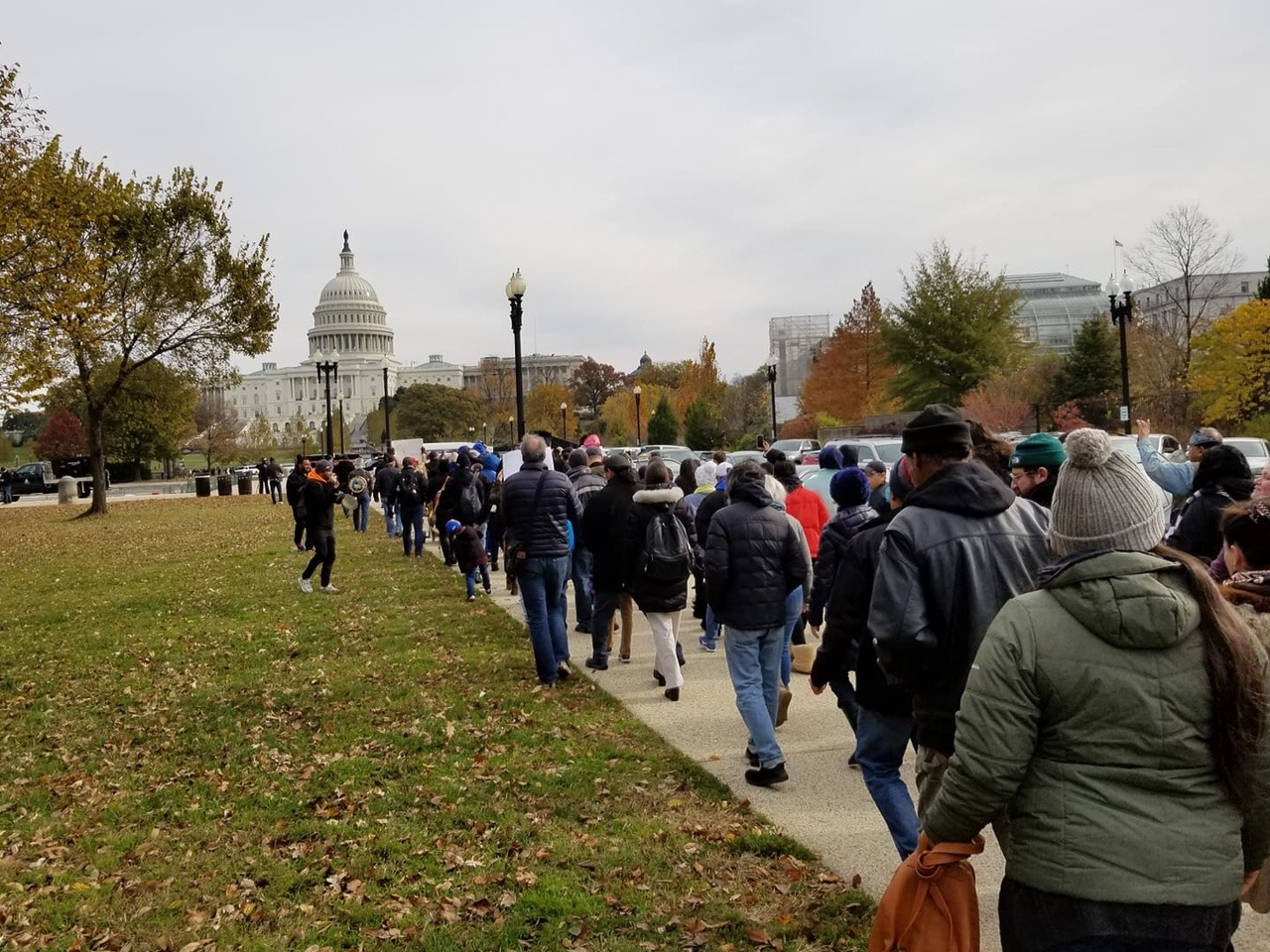 Give Back Our Reservation: Mashpee Wampanoag and Allies March on the