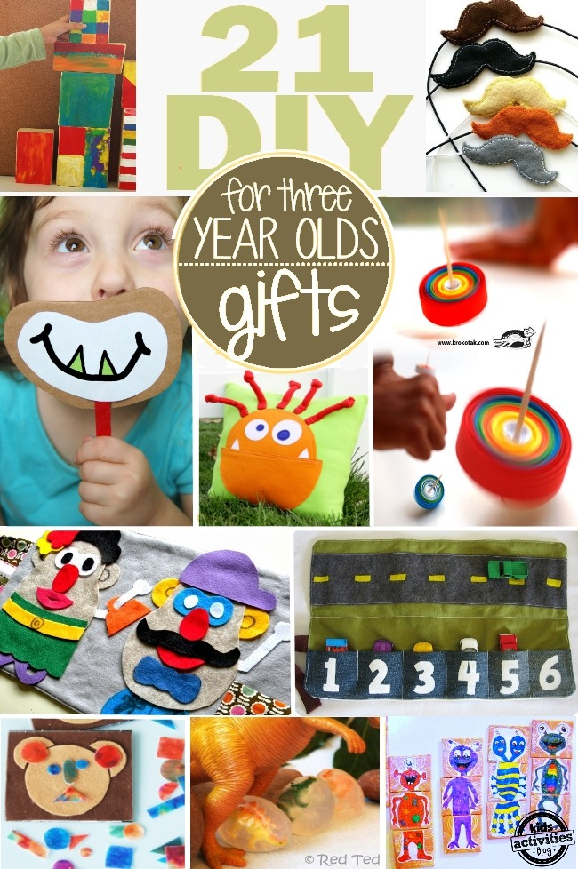 21 HOMEMADE GIFTS FOR 3 YEAR OLDS {THEY CAN HELP TOO ...