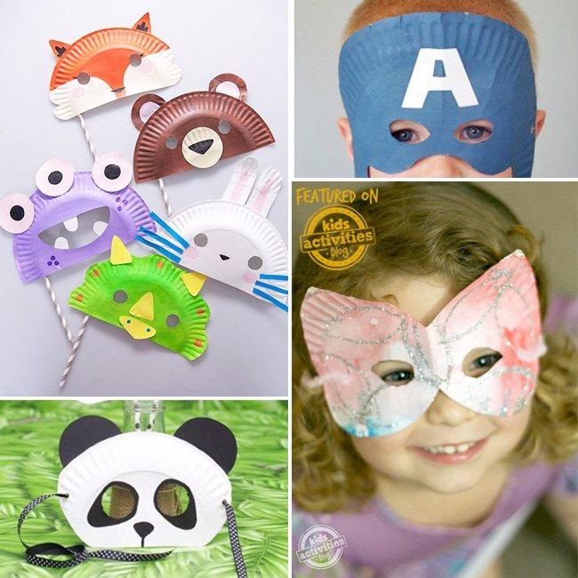 30+ DIY MASK IDEAS FOR KIDS - Kids Activities