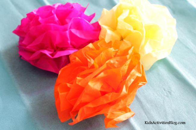 cinco de mayo  mexican paper flowers