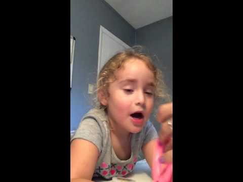 Little Girl Has Too Much Fun Laughing About Slime