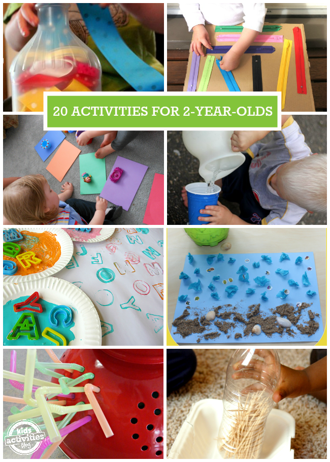 20 Quick Amp Easy Activities For 2 Year Olds Kids Activities