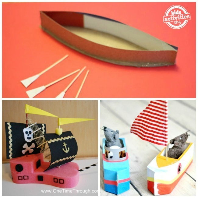 18 Boat Crafts For Kids To Make Kids Activities