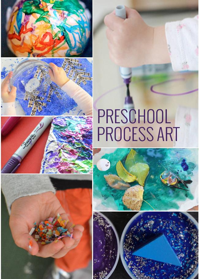 11 PROCESS ART PROJECTS FOR PRESCHOOLERS - Kids Activities