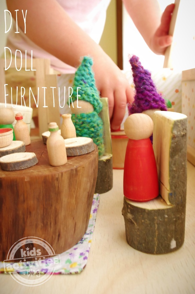 Diy Dollhouse Furniture Kids Activities