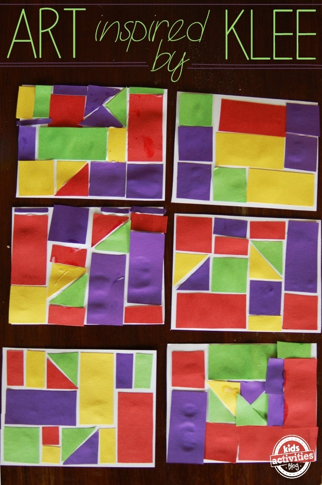 ART & MATH – INSPIRED BY KLEE - Kids Activities