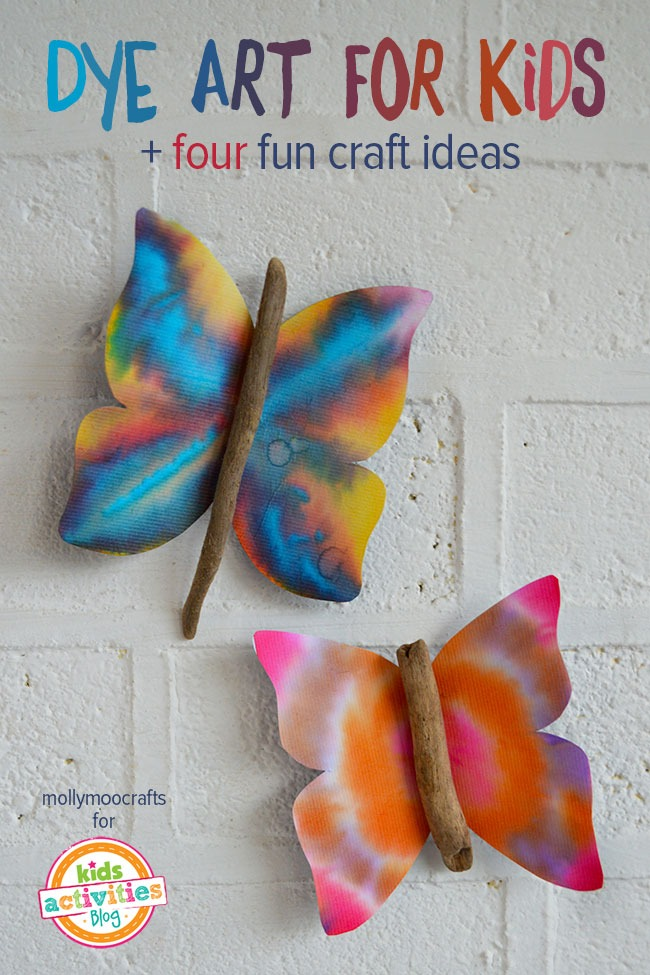 Dye Art Projects For Kids Cool Results So Easy To Do