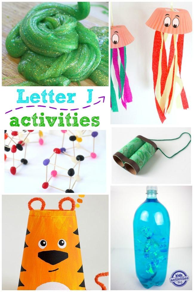 15 letter j activities kids activities. Black Bedroom Furniture Sets. Home Design Ideas