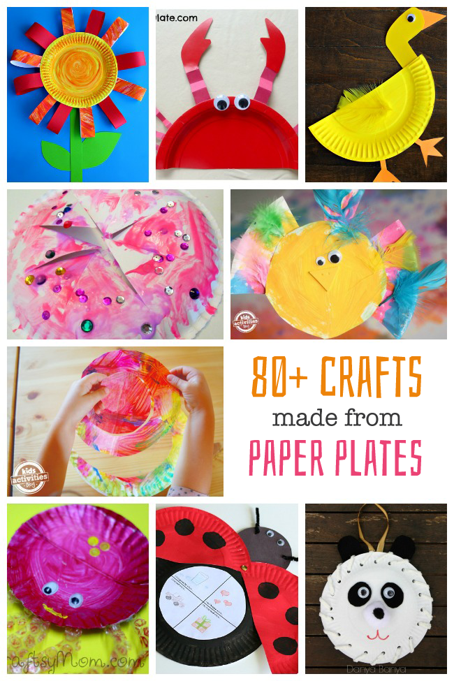 craft ideas for kids with paper plates 80 paper plate crafts for activities 8040