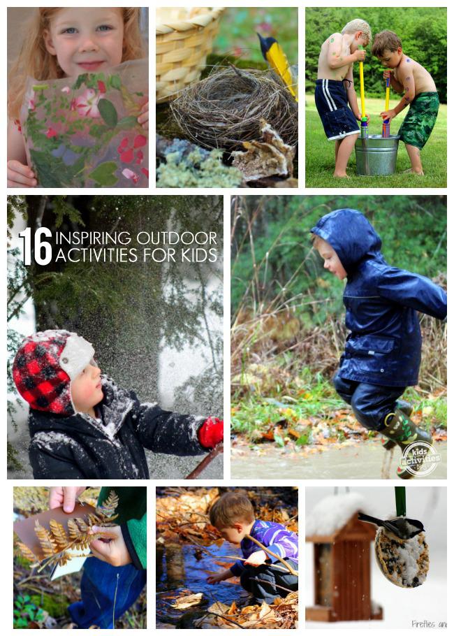 16 INSPIRING OUTDOOR ACTIVITIES FOR KIDS - Kids Activities