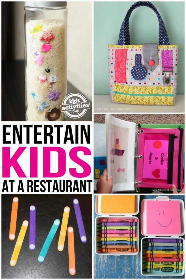 Restaurant Crayon Activities For Kids