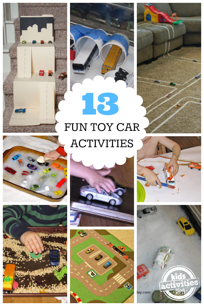 Toys For 13 : Fun toy car activities for kids
