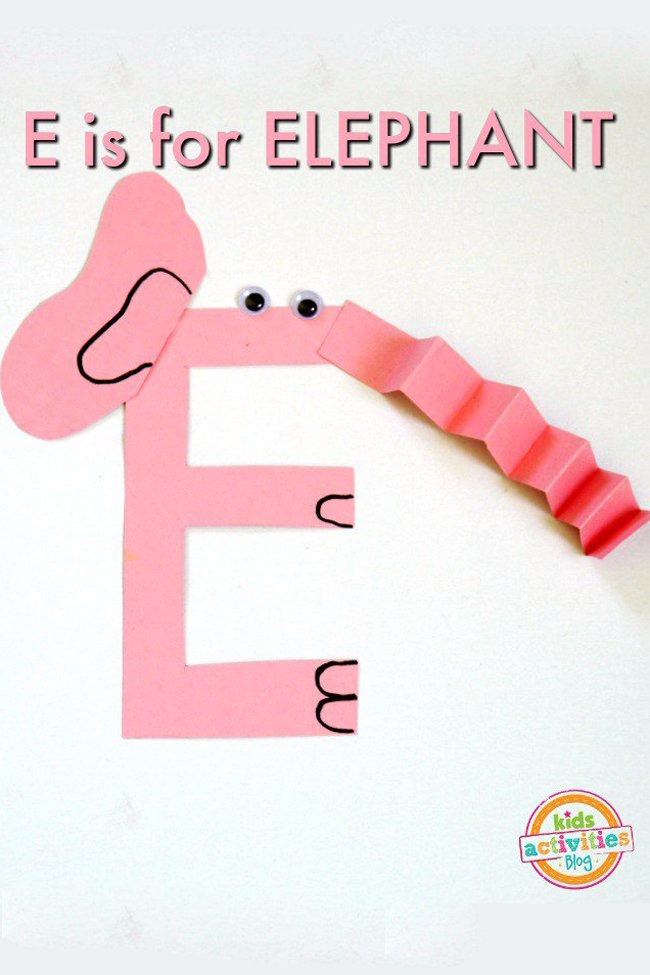 letter e crafts letter e craft e is for elephant activities 8856