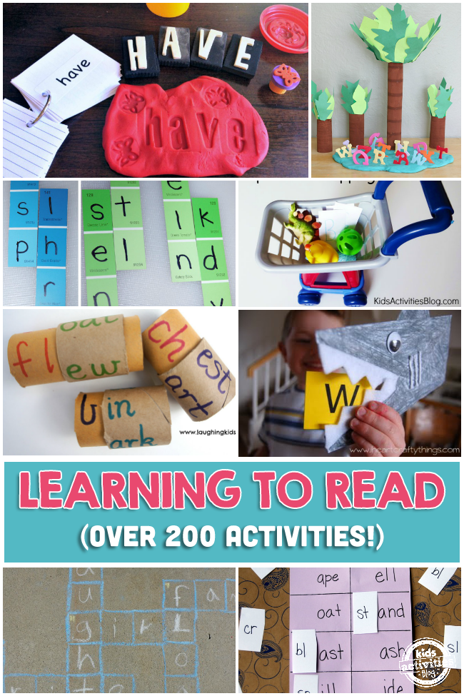 200+ LEARNING TO READ ACTIVITIES - Kids Activities