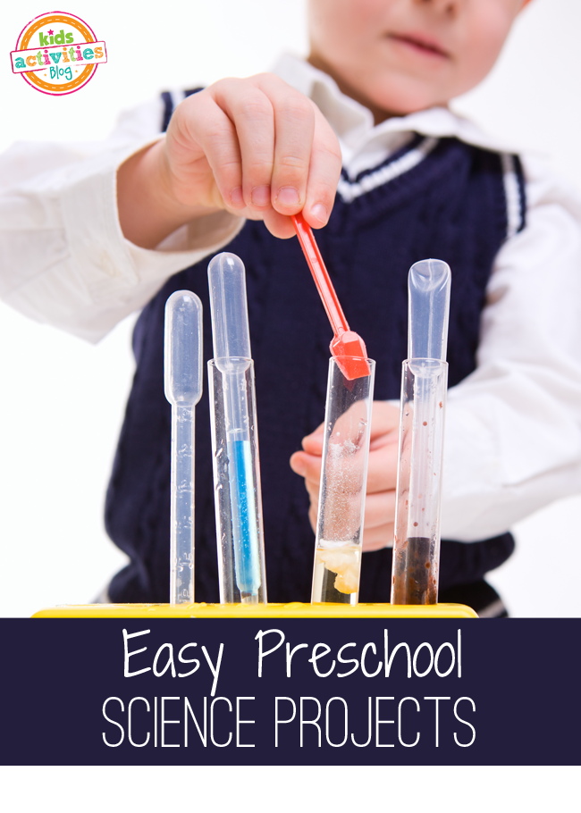 10 EASY PRESCHOOL SCIENCE EXPERIMENTS - Kids Activities