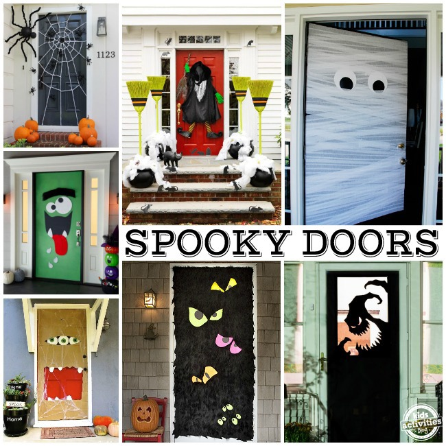 15 Fun Halloween Front Doors Kids Activities