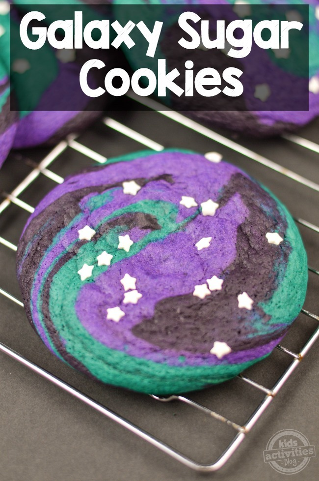 Out Of This World Galaxy Sugar Cookies Kids Activities
