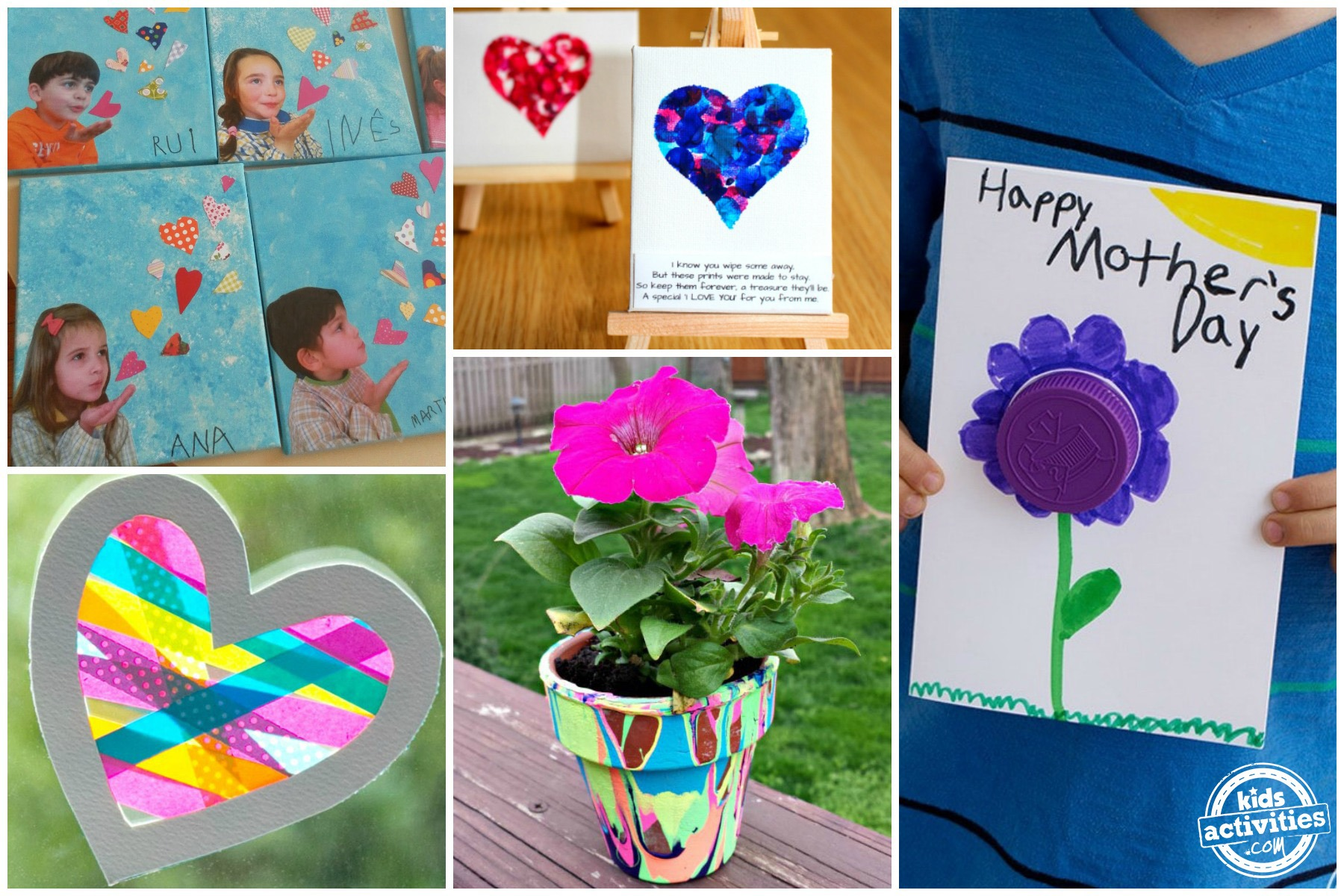 preschool mothers day crafts s day crafts can make activities 5263