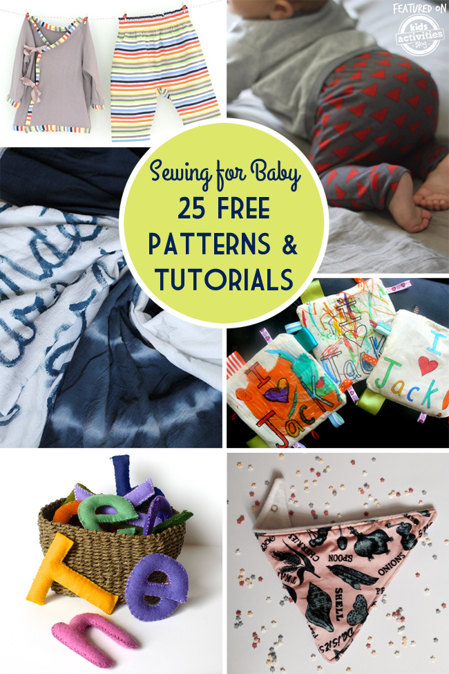 Simple Sewing For Baby 25 Free Patterns And Tutorials
