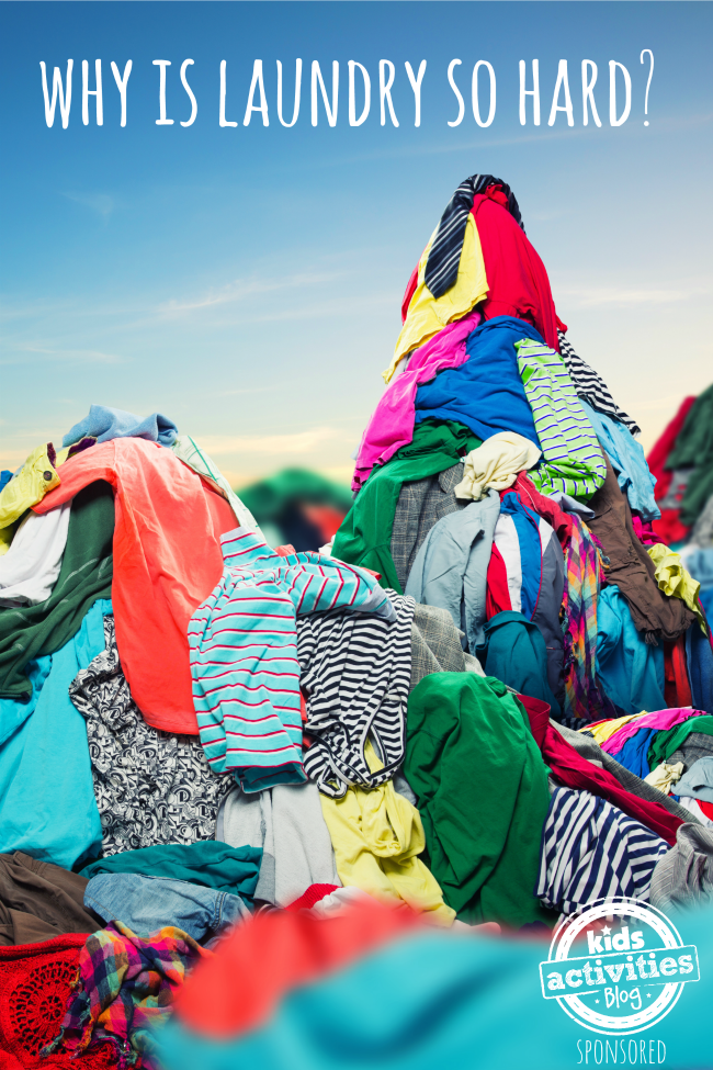 WHY IS LAUNDRY SO HARD? A NEW SCHOOL SOLUTION! - Kids ...