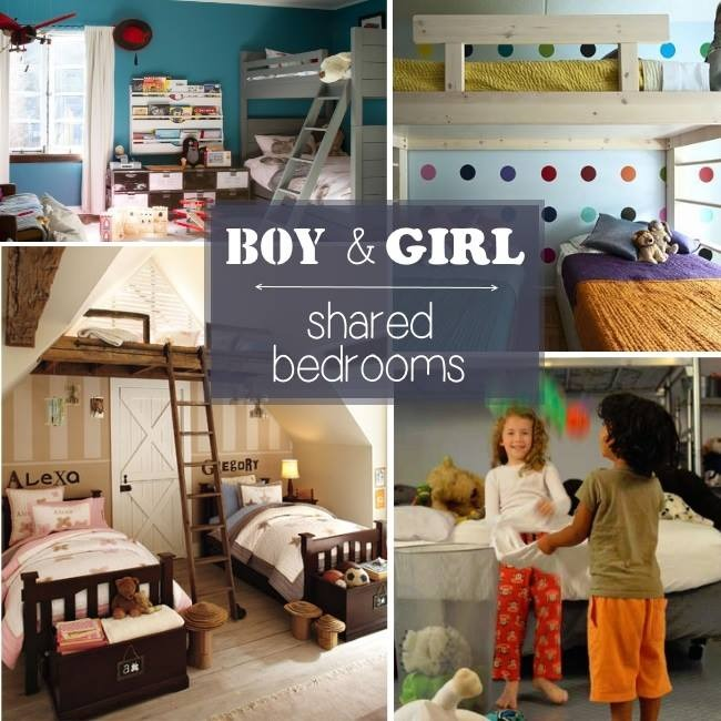 Boy girl shared bedroom ideas kids activities for Boy girl bedroom ideas shared