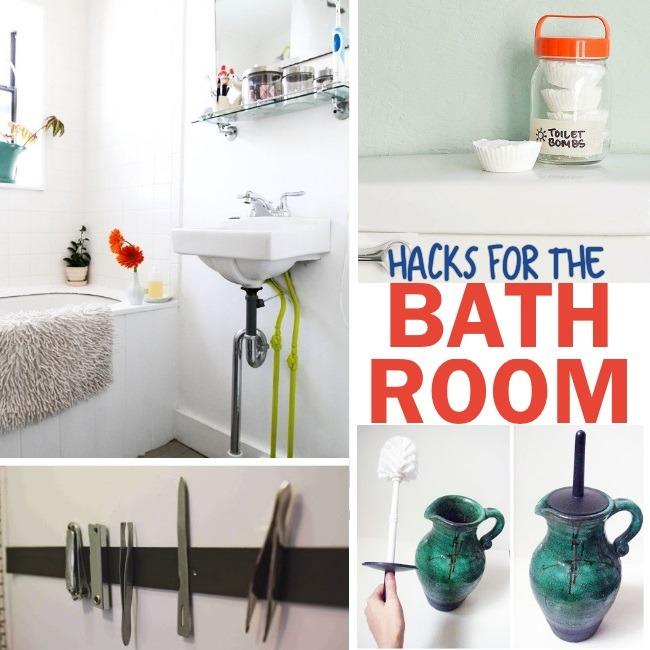 Genius Bathroom Hacks And Tips Activities
