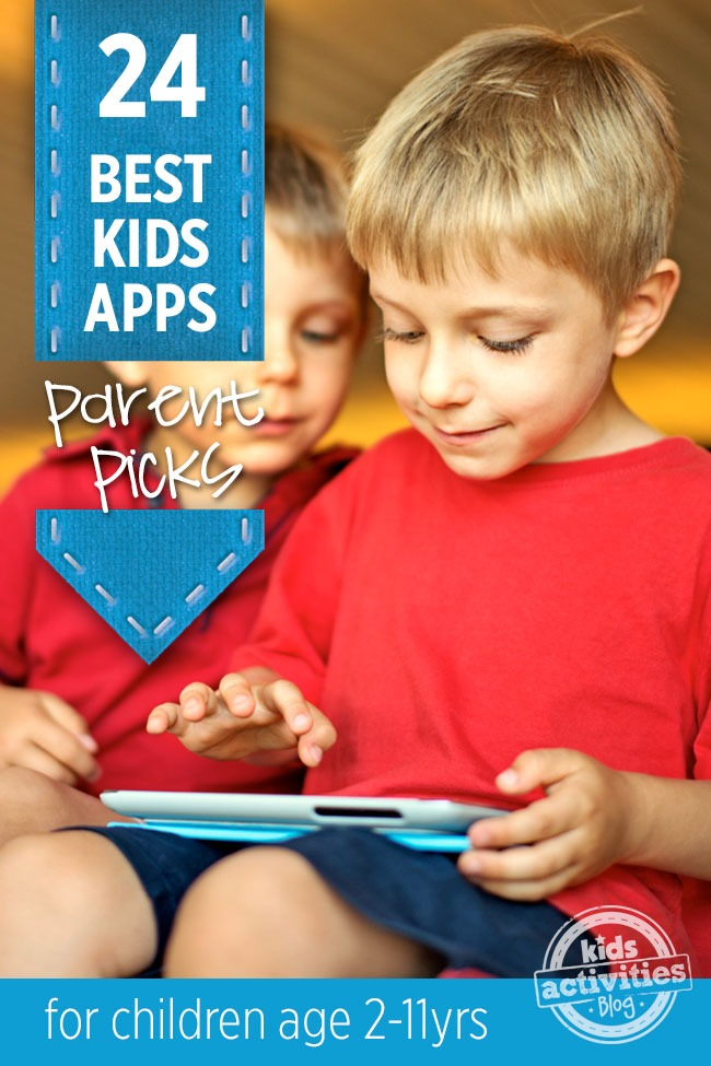 AMAZING APPS: 24 BEST APPS FOR KIDS {PARENT RECOMMENDED} - Kids Activities