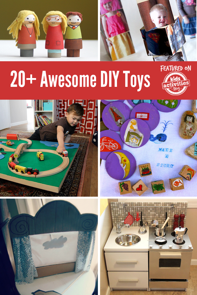 Awesome Sports Toys For Toddlers : Awesome diy toys to make for your kids activities