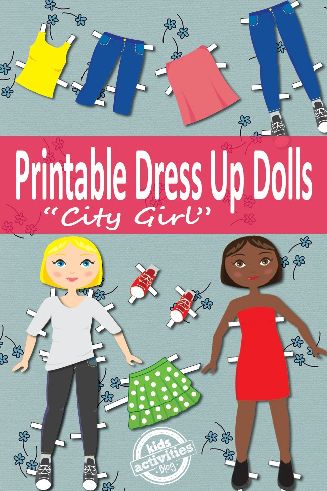 dress up dolls free kids printable kids activities. Black Bedroom Furniture Sets. Home Design Ideas